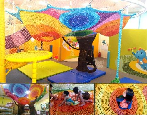 口袋屋儿童彩虹树展示