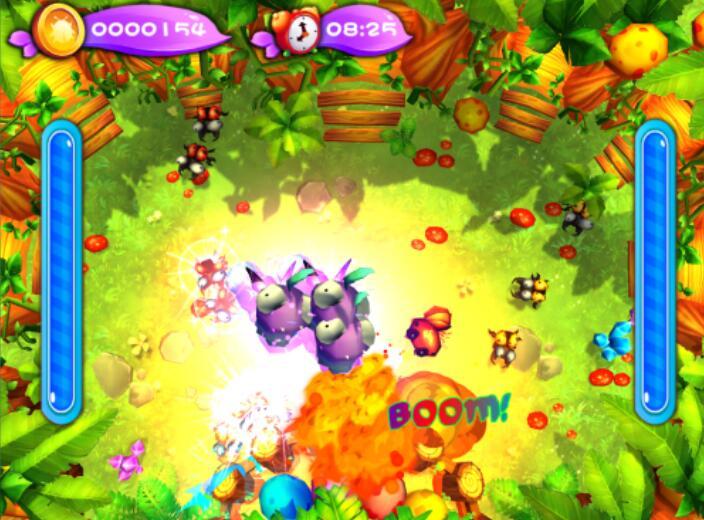 口袋屋互动投影蹦床的两个游戏主题— —虫虫来袭