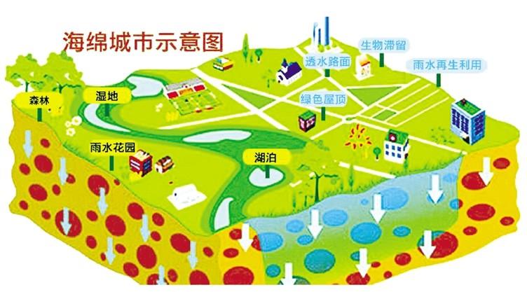 绿色景观雨水收集系统