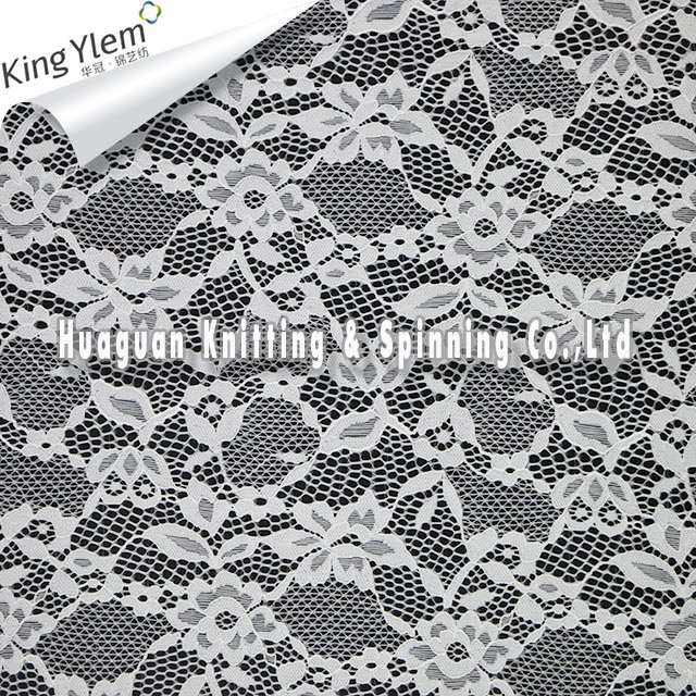 Lace Knit Fabric By The Yard Flower Lace Material Buy Lace Knit