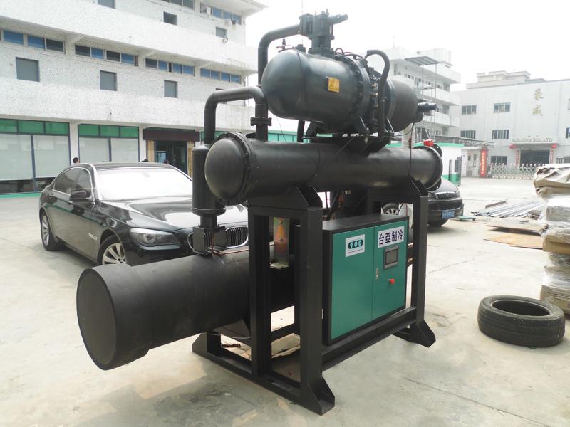 低温螺杆式冷水机,冷库专用低温冷水机