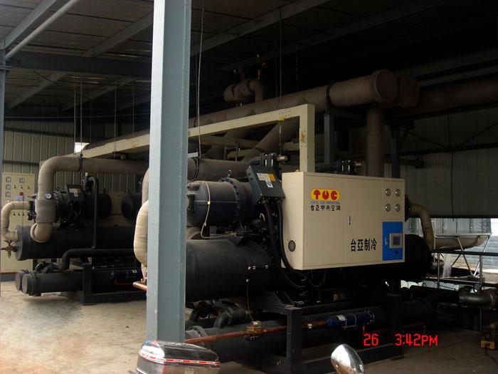 低温螺杆式冷水机 乙二醇专用冷水机 东莞台亚制冷