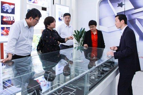 沈阳天众合金股份有限公司董事长张沫女士来我司参观